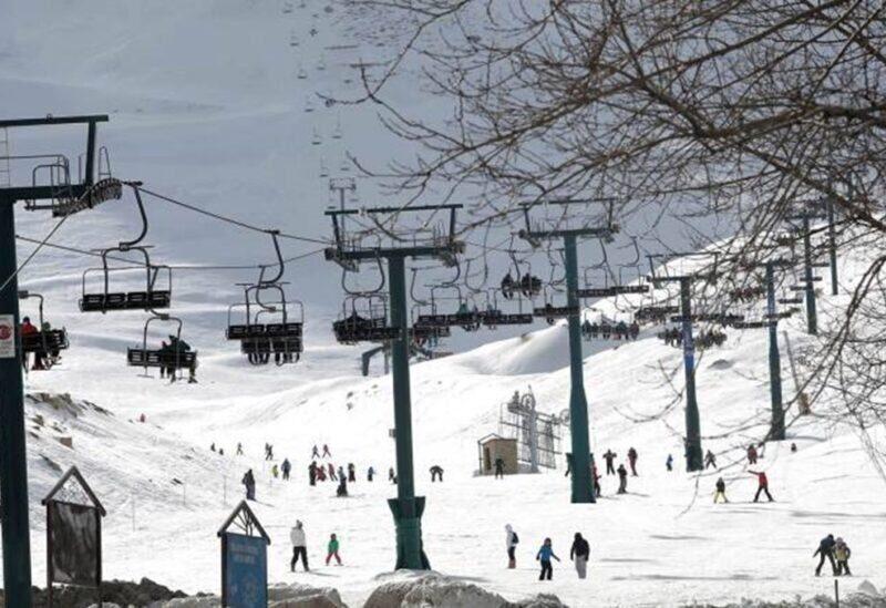 Kfardebian ski resort