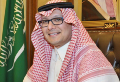 FILE PHOTO: Saudi Ambassador to Lebanon Walid Bukhari