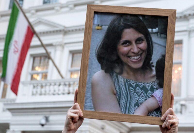Picture of British-Iranian aid worker Nazanin Zaghari-Ratcliffe