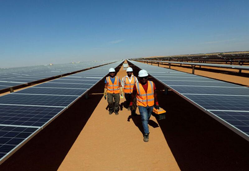 200 Megawatt solar power plant in Egypt