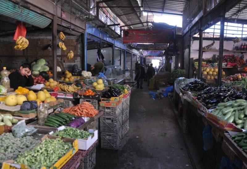 A market in Gaza Strip