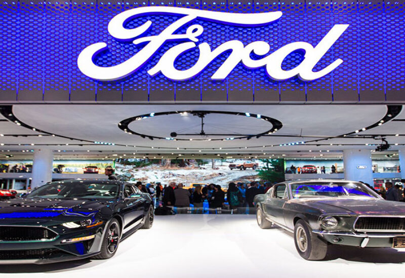 A ten percent slump in Ford's sales