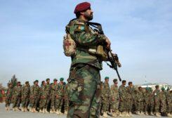 Afghani troops