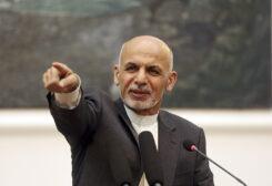 Afghanistan's President Mohammad Ashraf Ghani