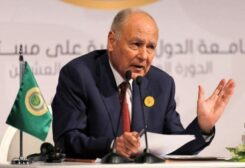 Arab League Secretary General Ahmed Aboul Gheit