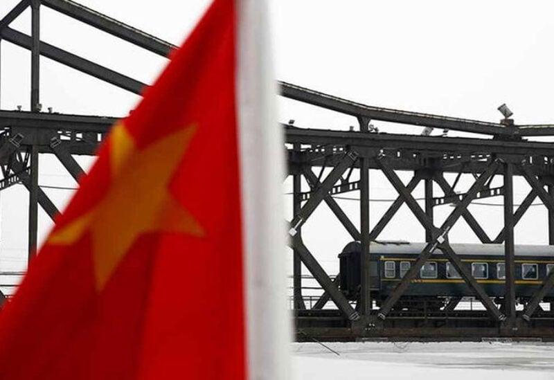 China cargo train service with North Korea