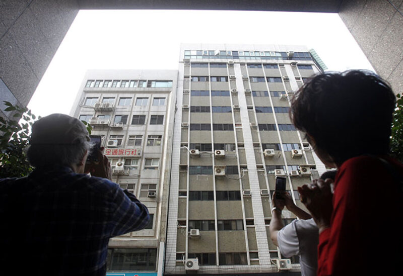 Earthquake hits Easter Taiwan