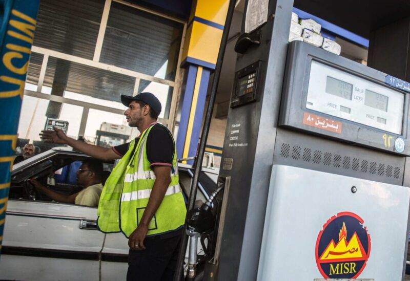 Egypt, gas station