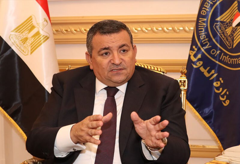 Egypt's Minister of State for Information Osama Heikal