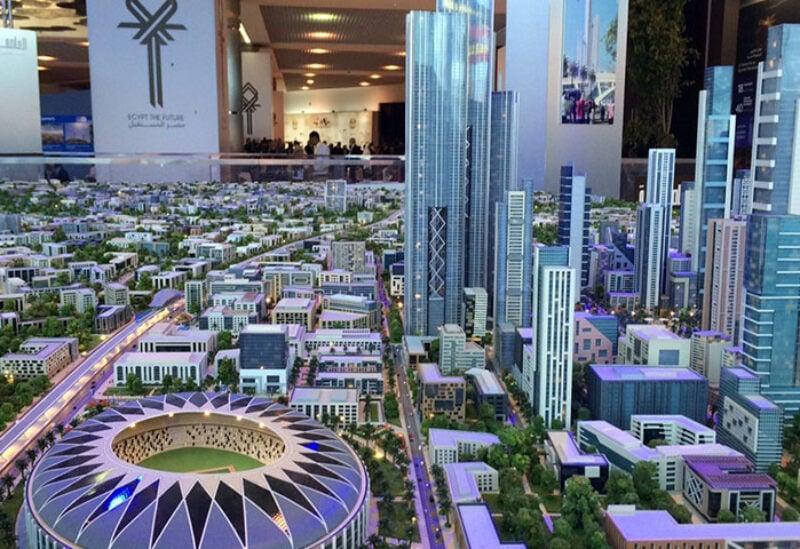 Egypt's new capital city in Cairo