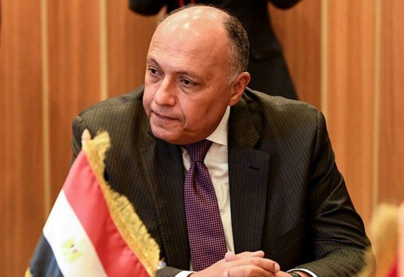 Egypy foreigm minister Sameh Shoukri