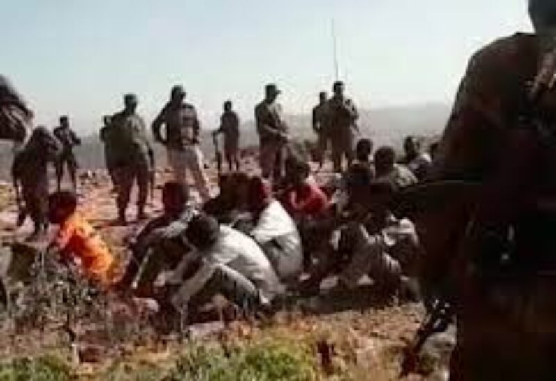 Ethyopia army massacre
