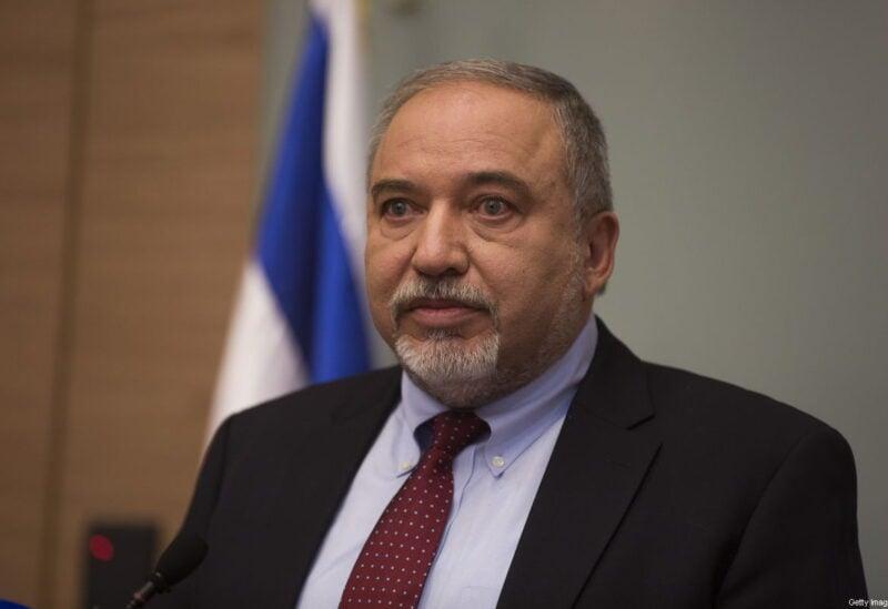 Former Israeli defence minister Avigdor Lieberman