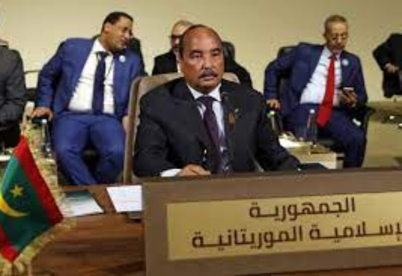 Former Mauritanian President, Mohamed Walad Abdel Aziz