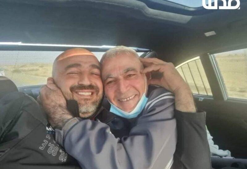 Freed Palestinian Rushdi Abo Mokh