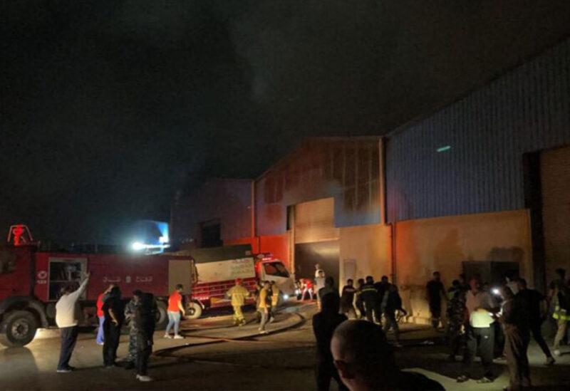 Ghazieh warehouses