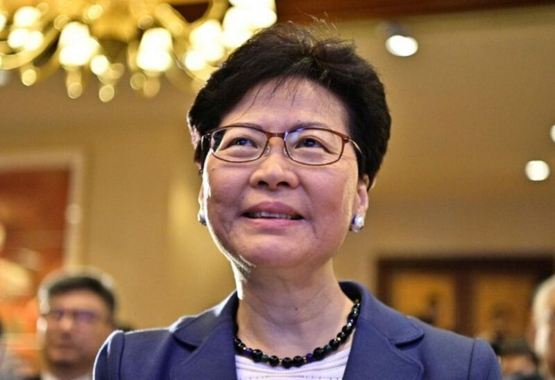 Hong Kong chief executive of Carrie Lam