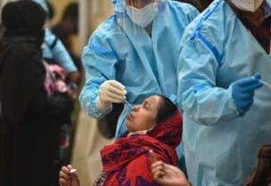 India's Covid-19 infections spike