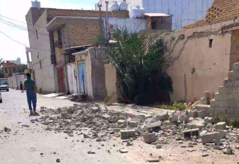 Iran earthquake Archive