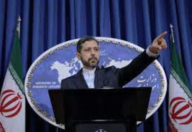Iranian Foreign Ministry spokesman Saeed Khatibzadeh