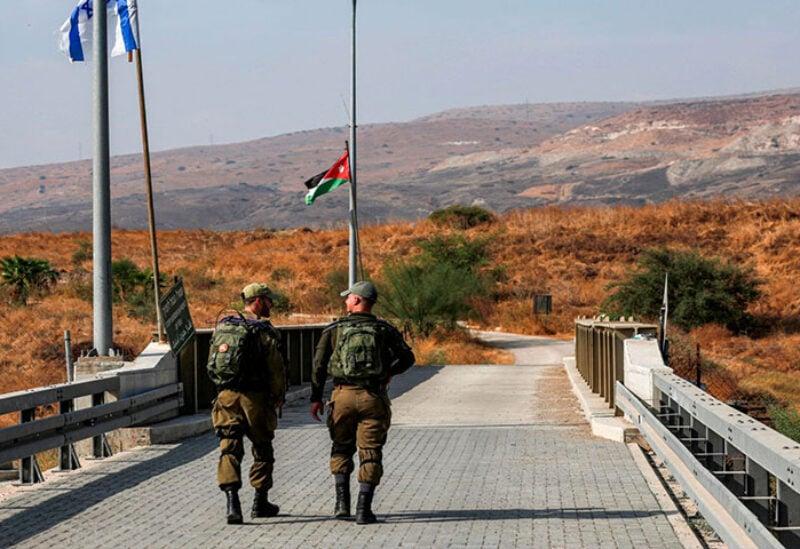 Israel Jordan borders
