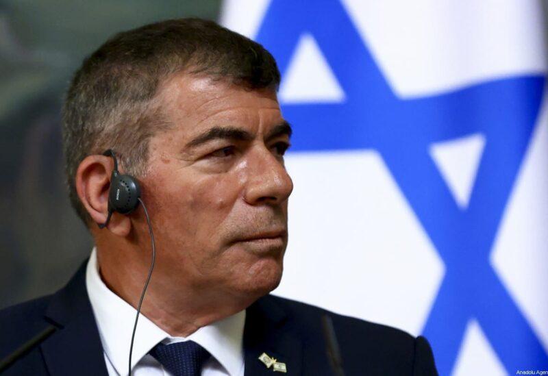 Israeli Foreign Minister Gabi Ashkenazi