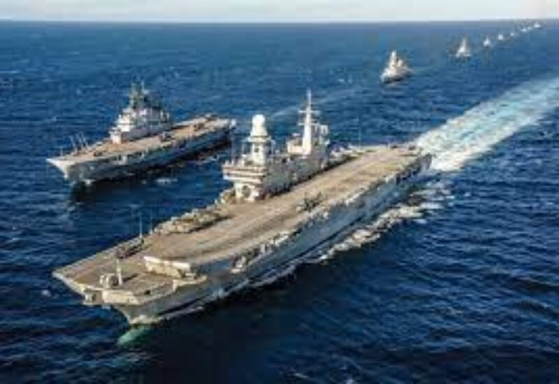 Italy Cavour aircraft carrier