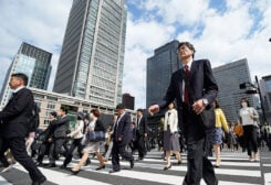 Japan's economy contracted in Q1