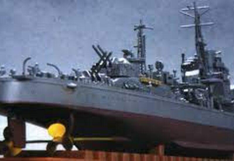 Japanese destroyer Suzutsuki