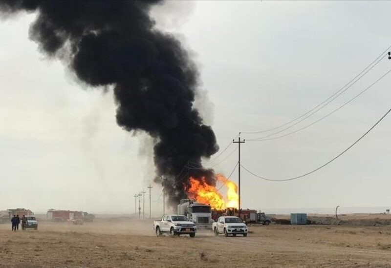 Kirkuk, oil well explosion