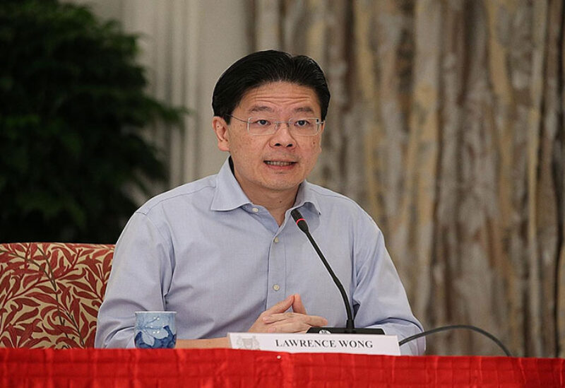Lawrence Wong Finance Minister