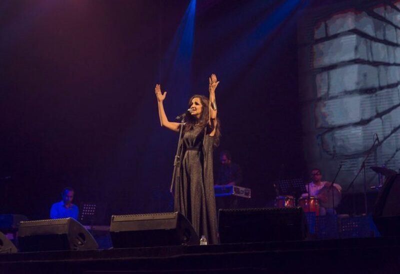 Lebanese singer Tania Saleh
