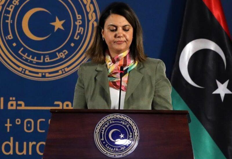 Libyan Foreign Minister Najla El-Mangoush