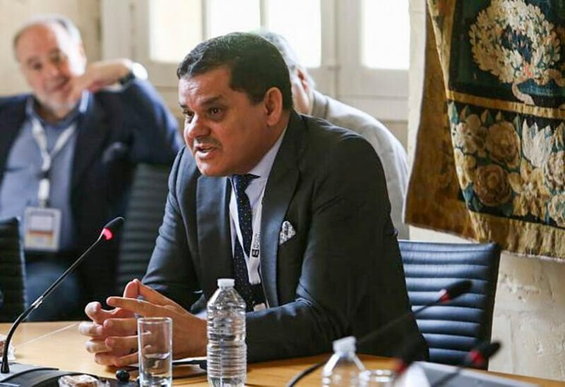 Libyan Prime Minister Abdul Hamid Dbeibah
