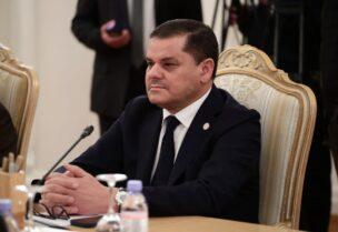 Libya's Prime Minister Abdul Hamid Dbeibeh