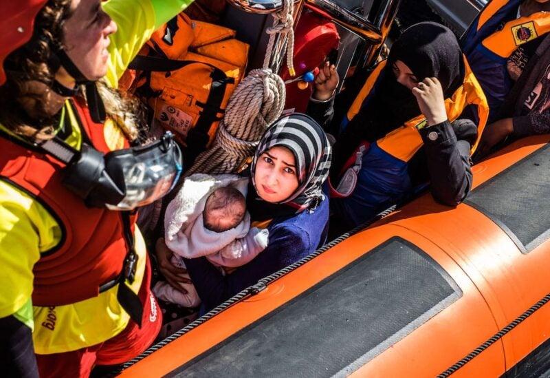 Mediterranean Sea, refugees Archive