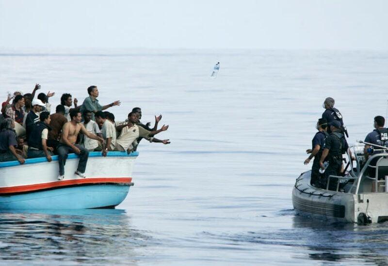 Migrants at sea-Archive