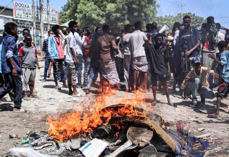 Mogadishu, protest