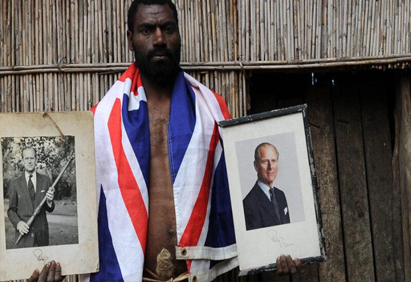 Mourning ceremony for Prince Philip in Vanuatu