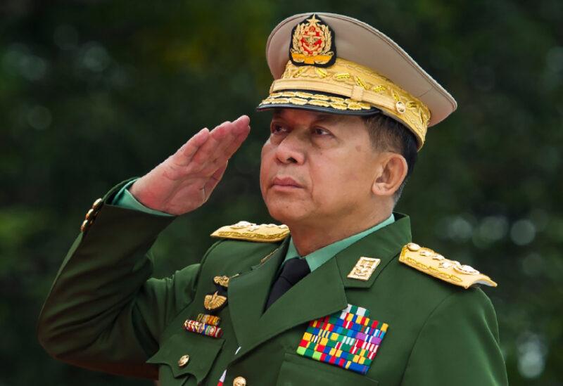 Myanmar's junta leader General Min Aung Hlaing