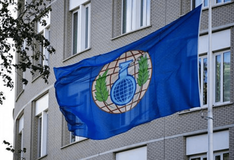 Organisation for the Prohibition of Chemical Weapons' flag