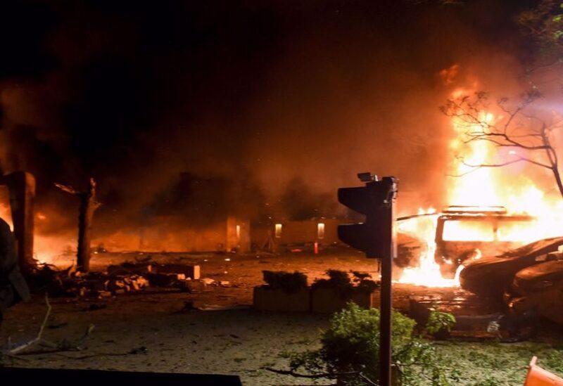 Pakistan car explosion