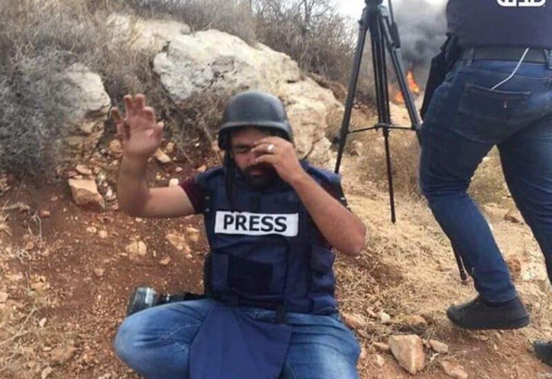 Palestinian journalist, Muath Hamid