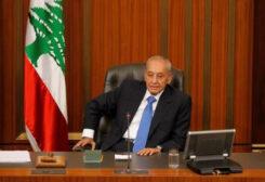 Palriament Speaker Nabih Berri