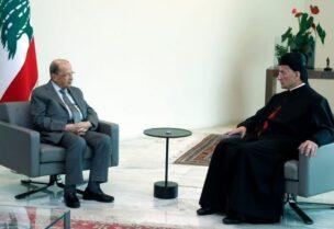 Presidene Aoun and Patriarch AL-Raii- Archive