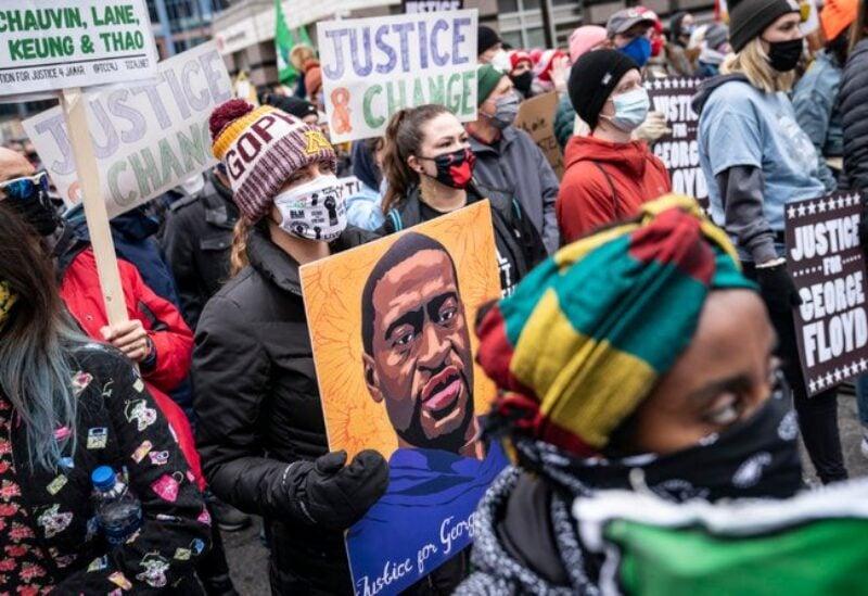 Pro Floyd protest