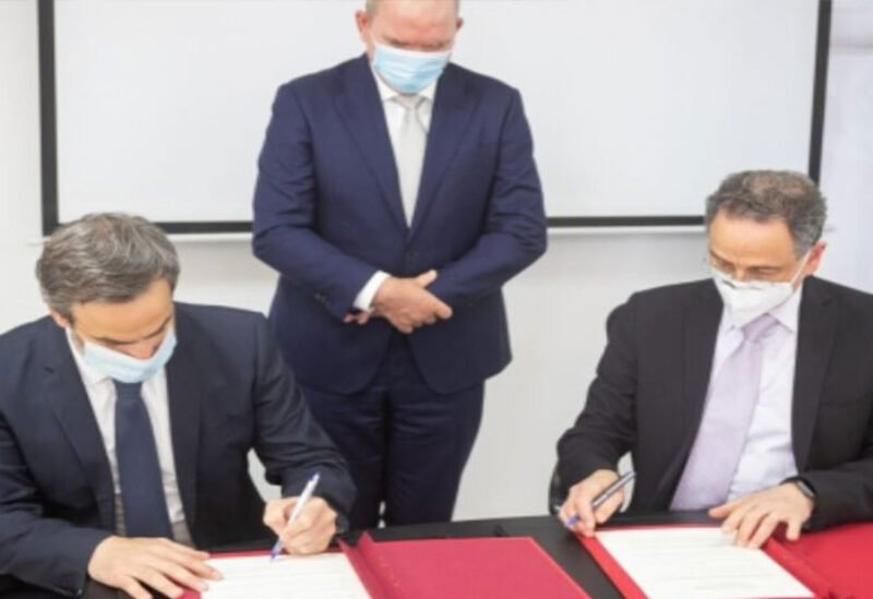 Raoul Nehme and Michel Moawad sign MoU