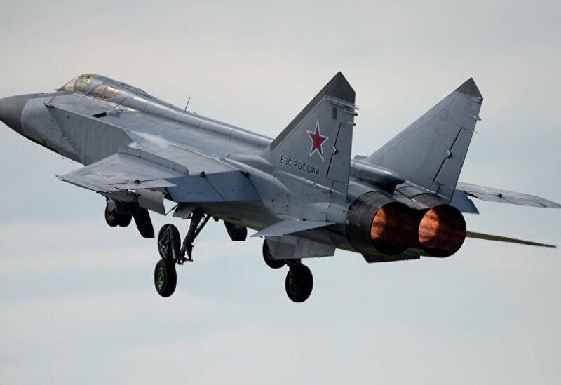 Russia Sent MiG-31 Fighter to Escort US Reconnaissance Plane Russian Pacific Fleet Says