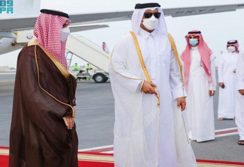 Saudi Foreign Minister arrives to Qatar