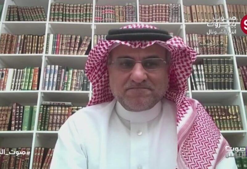 Saudi academic and political researcher d. Nayef Khaled Al-Waqa '
